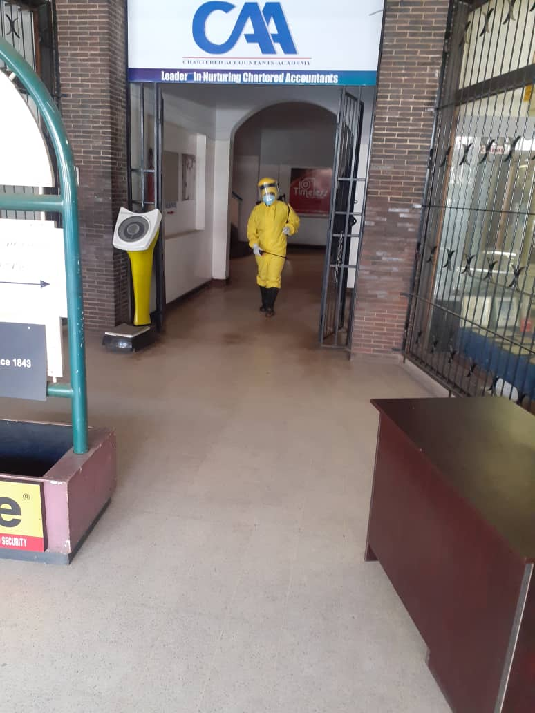 Office fumigation against Covid 19